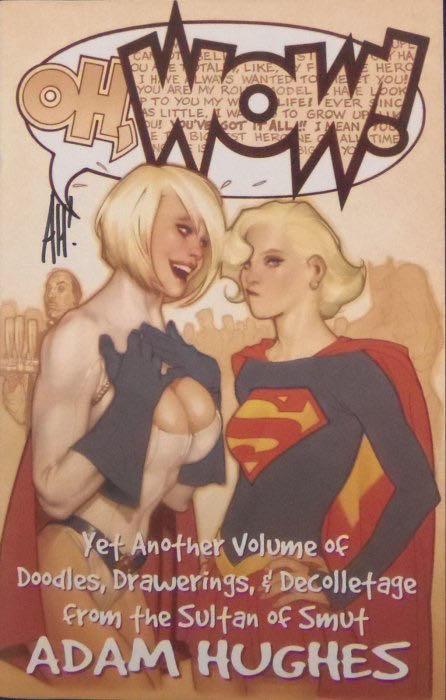 2009 Adam Hughes Sketchbook - 1 cover