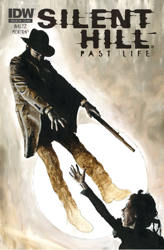Silent Hill Past Life - 4 cover