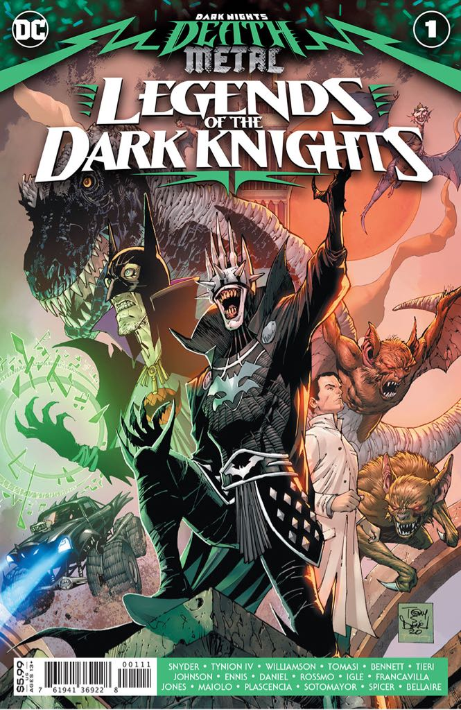 Dark Knights Death Metal: Legends Of The Dark Knights - 1 cover