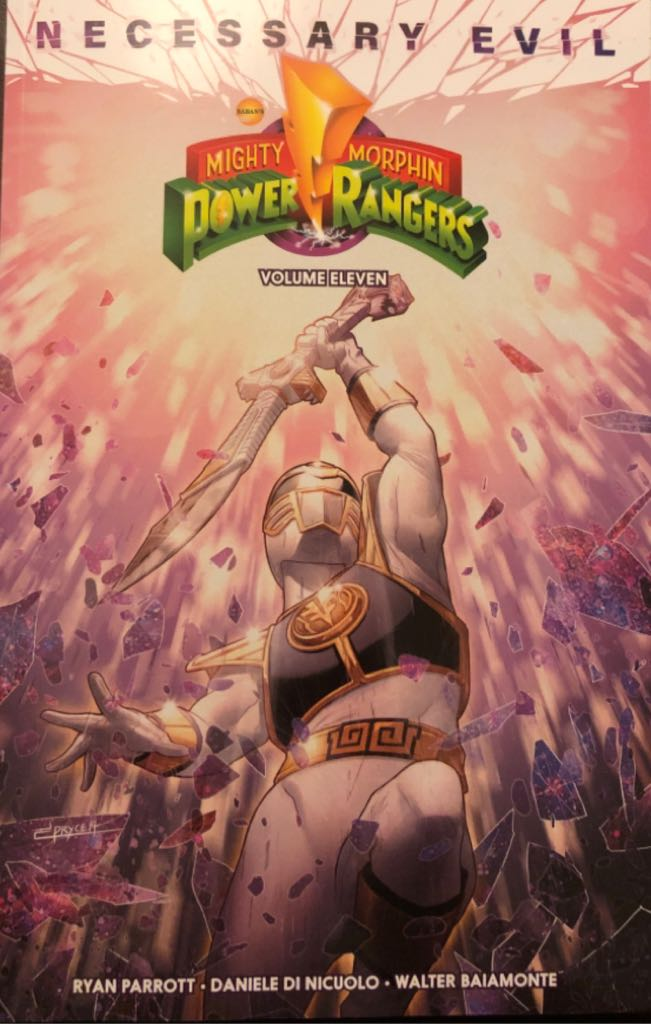Mighty Morphin Power Rangers: Volume 11 - 11 cover