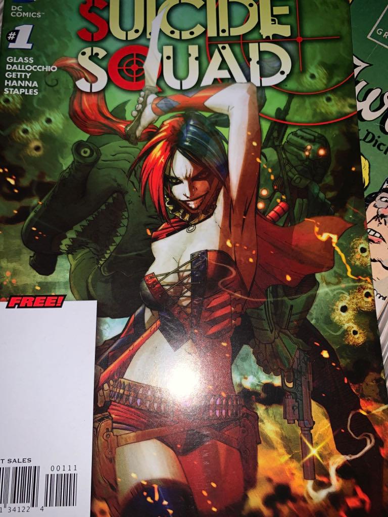 Suicide Squad - 1 cover
