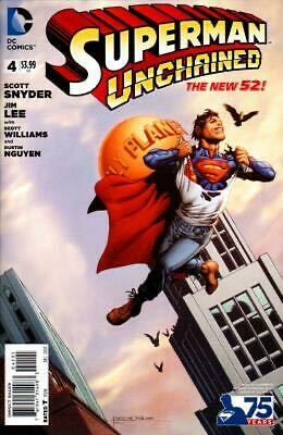 Superman Unchained - 4 cover