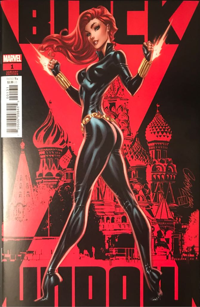 Black Widow - 1 cover