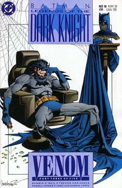 Legends Of The Dark Knight - 18 cover