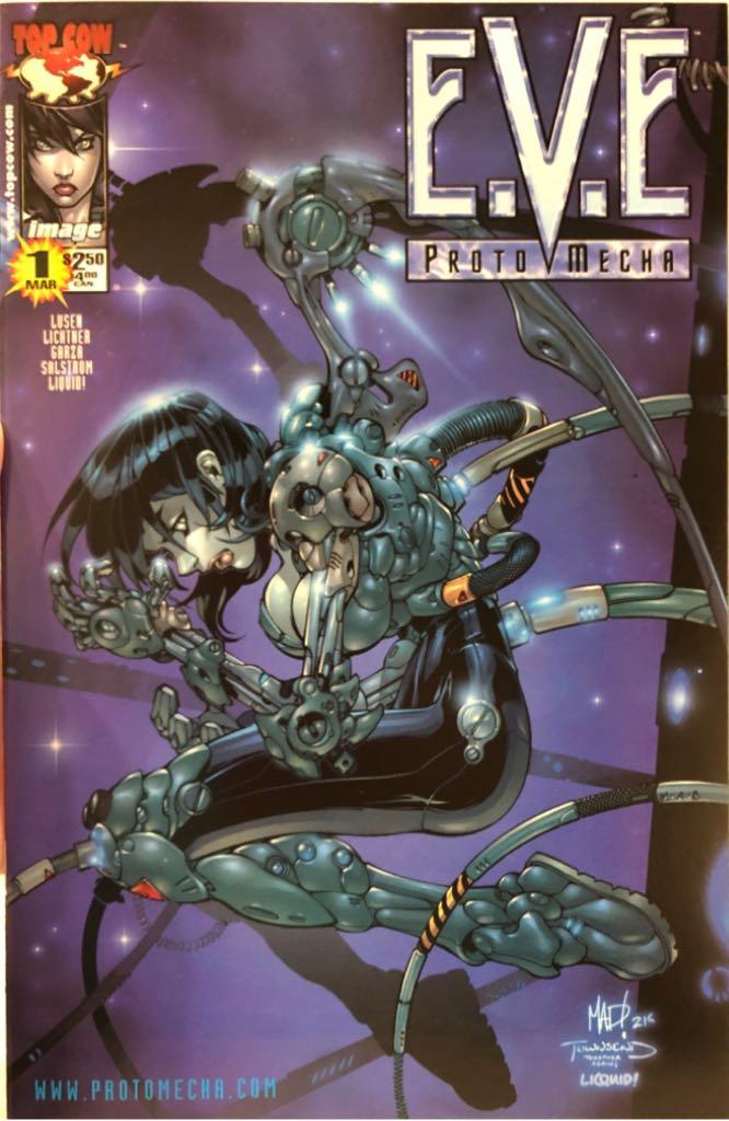 E.V.E. Protomecha - 1 cover