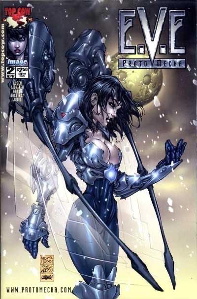 E.V.E. Protomecha - 2 cover