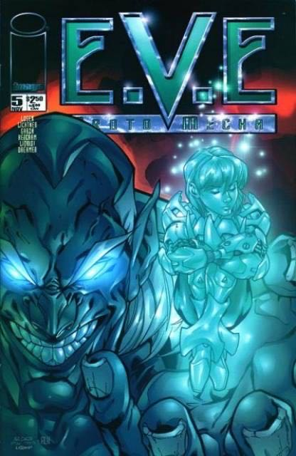 E.V.E. Protomecha - 5 cover