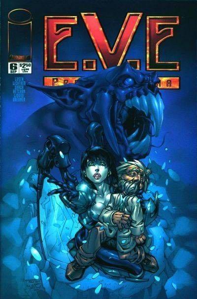 E.V.E. Protomecha - 6 cover