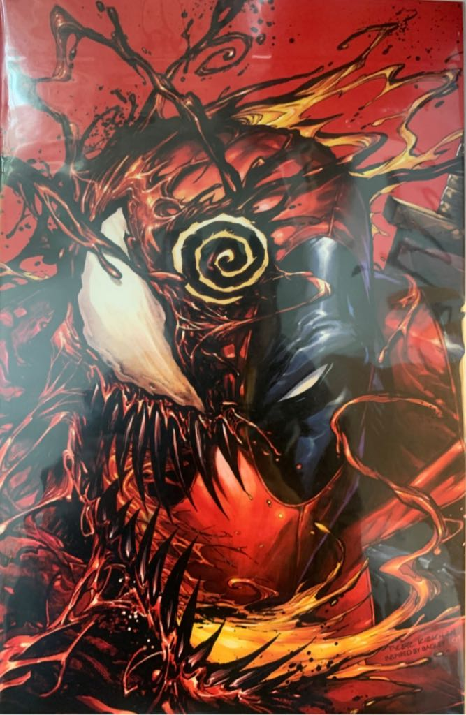 Absolute Carnage Vs Deadpool - 1 cover