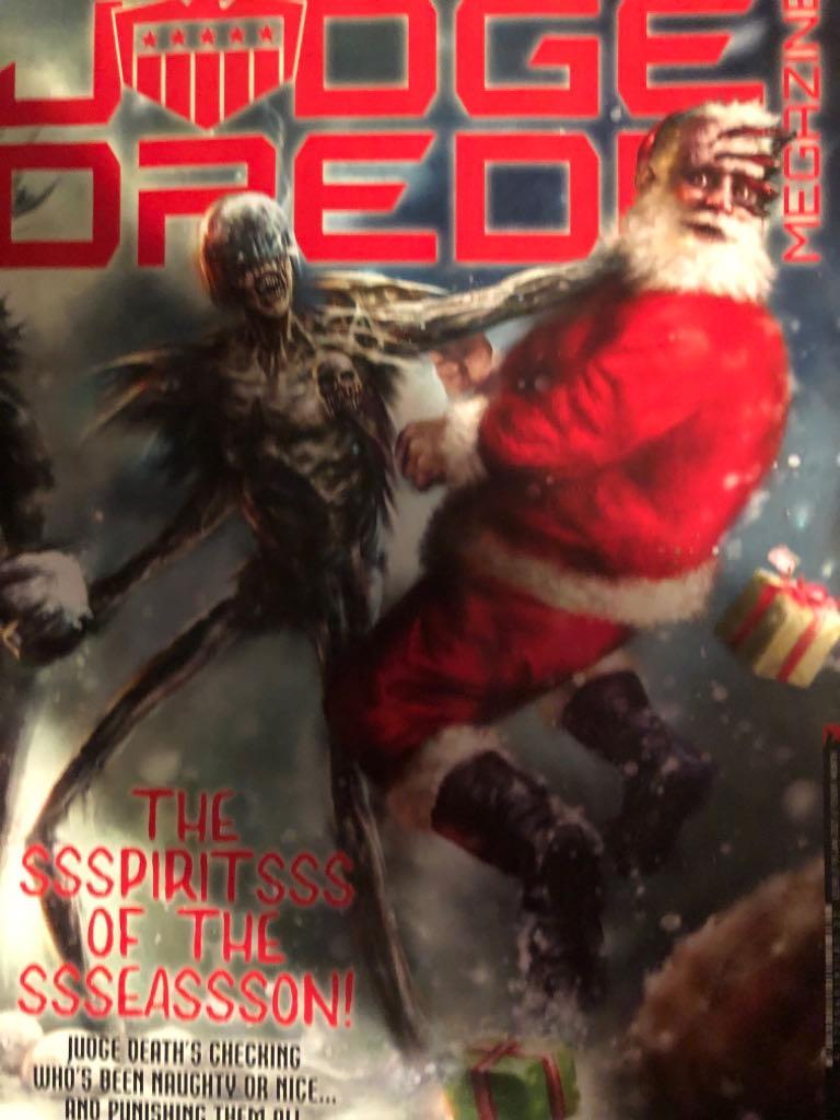 Judge Dredd Megazine - 427 cover