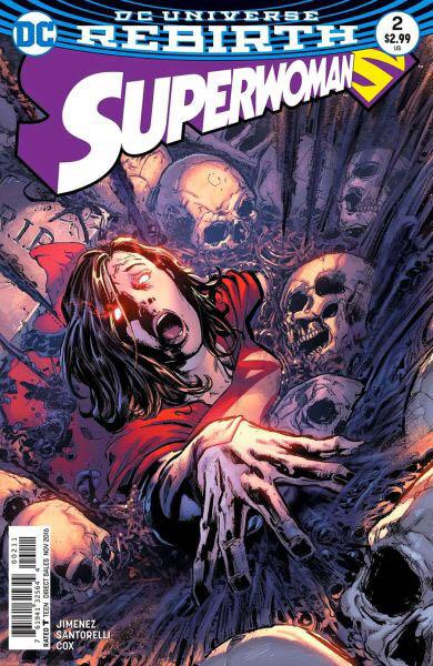 Superwoman: Rebirth - 2 cover