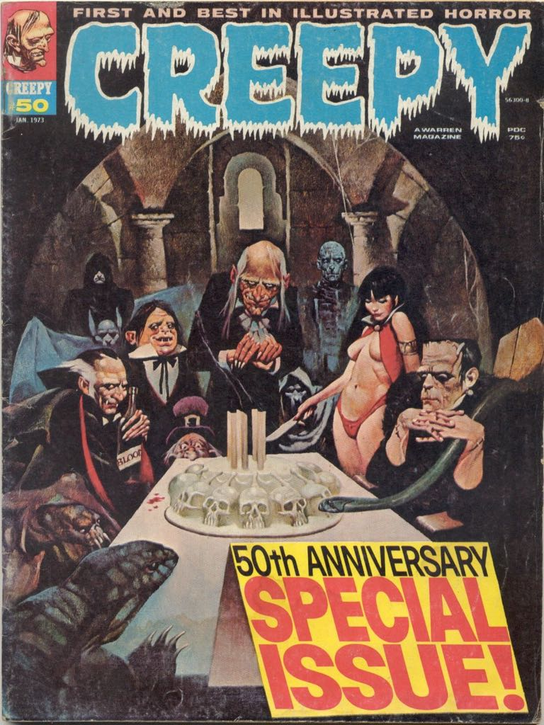 Creepy - 50 cover