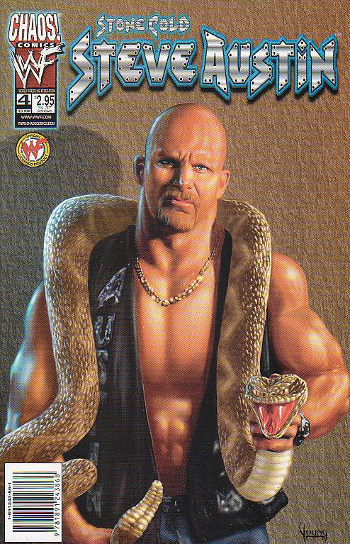 WWF: Stone Cold Steve Austin - 4 cover