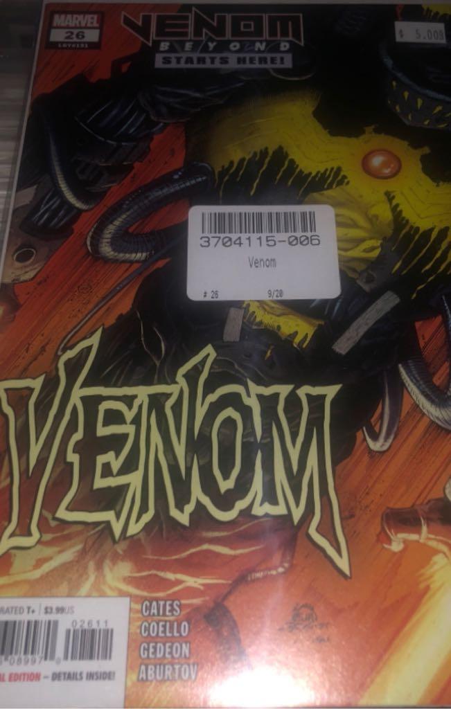 Venom - 26 cover