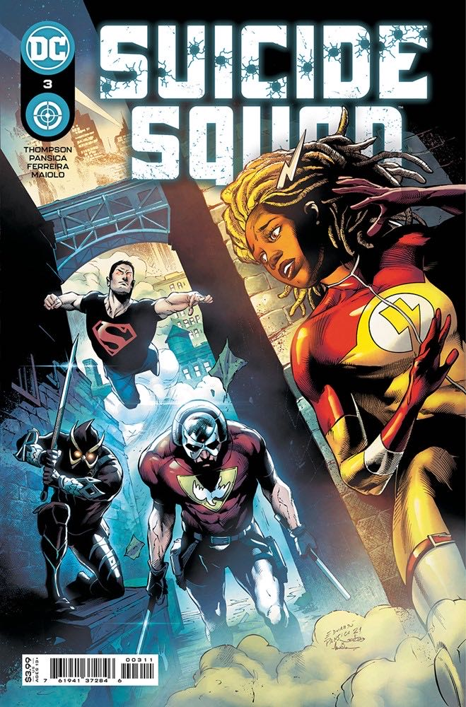 Suicide Squad - 3 cover