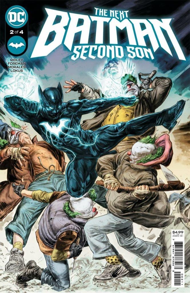 The Next Batman: Second Son - 2 cover