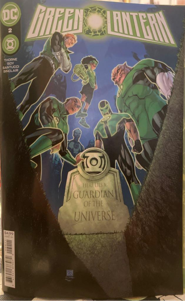 Green Lantern - 2 cover