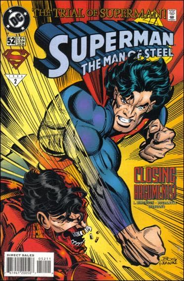 Superman The Man Of Steel - 52 cover