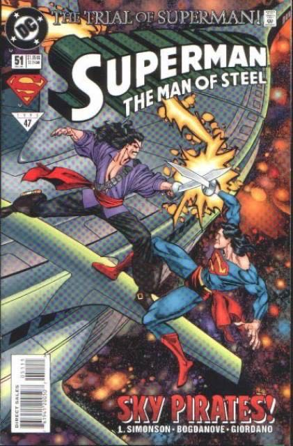 Superman: The Man Of Steel - 51 cover