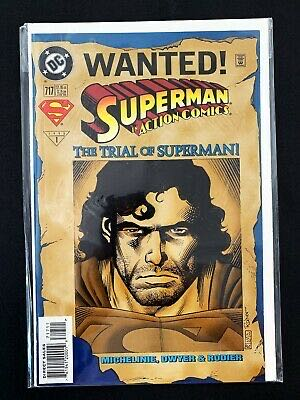 Superman In Action Comics - 717 cover