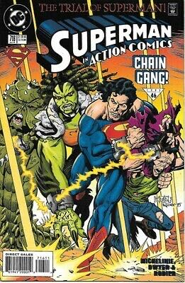 Superman In Action Comics - 716 cover