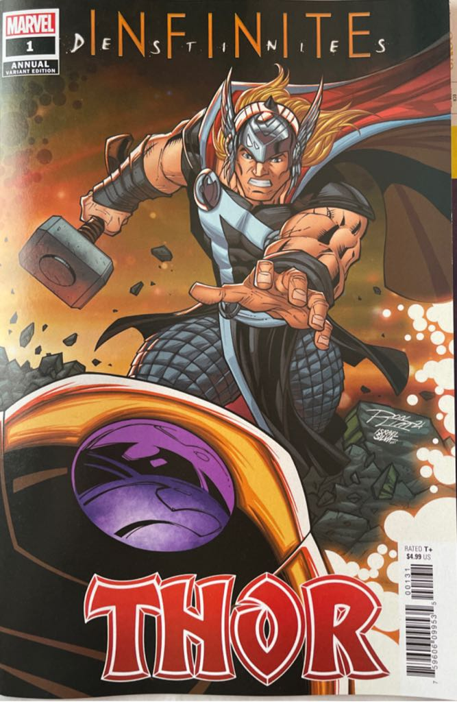 Thor Annual - 1 cover