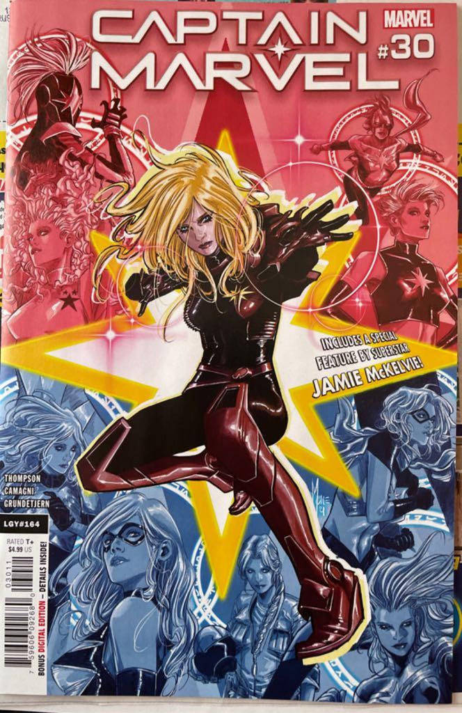 Captain Marvel - 164.30 cover