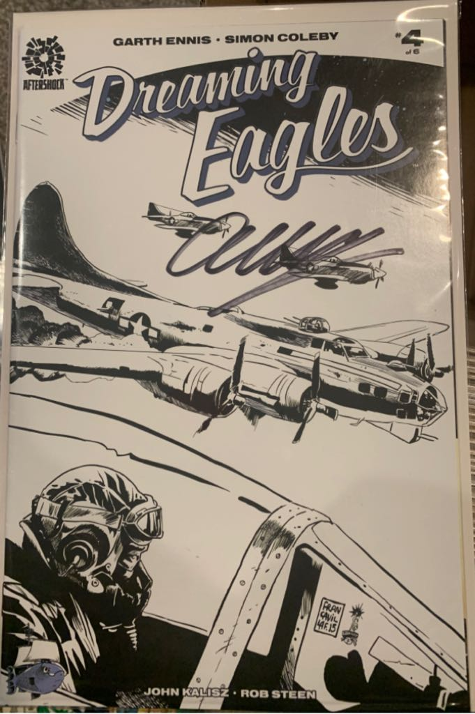 Dreaming Eagles - 4 cover