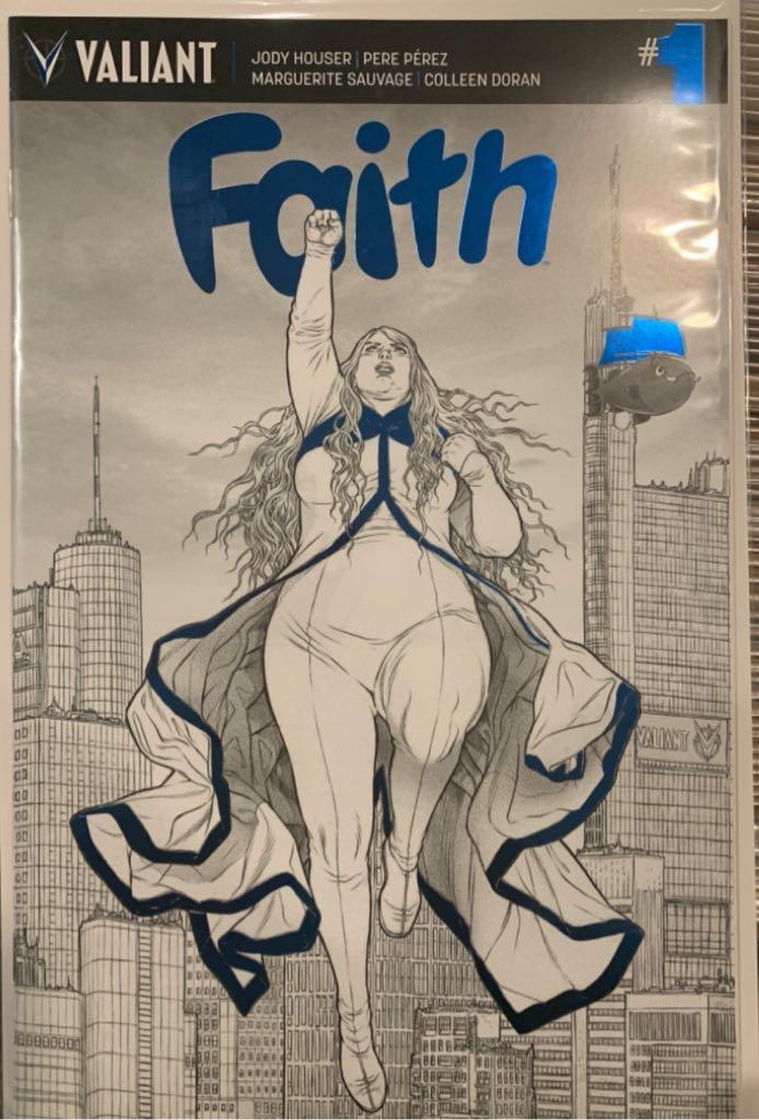 Faith - 1 cover