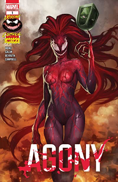 Extreme Carnage Agony - 1 cover