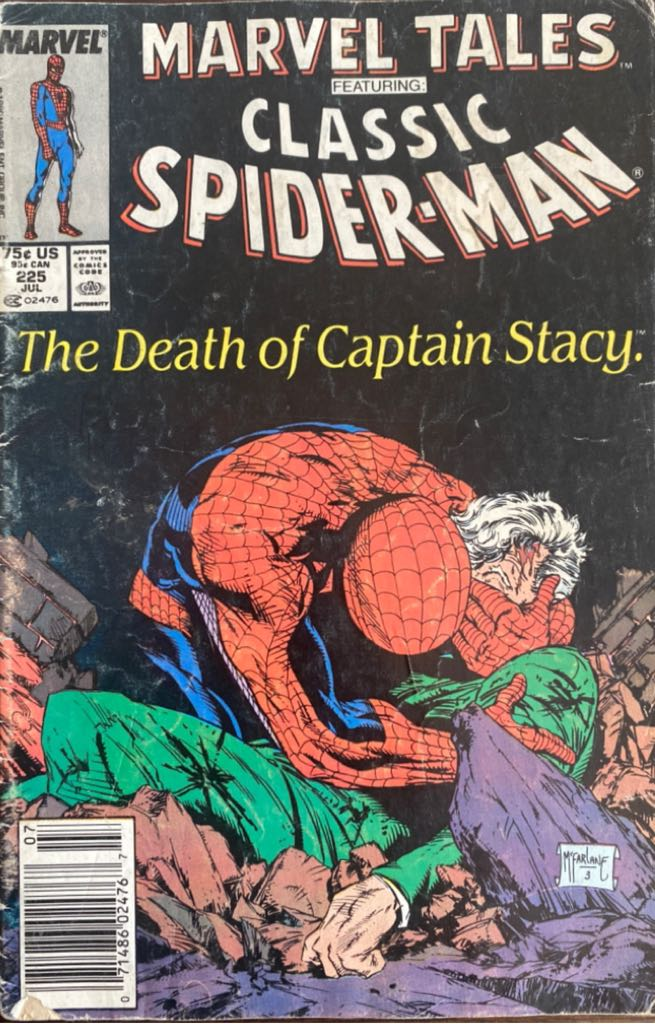 Marvel Tales Staring Spider-Man  - 225 cover