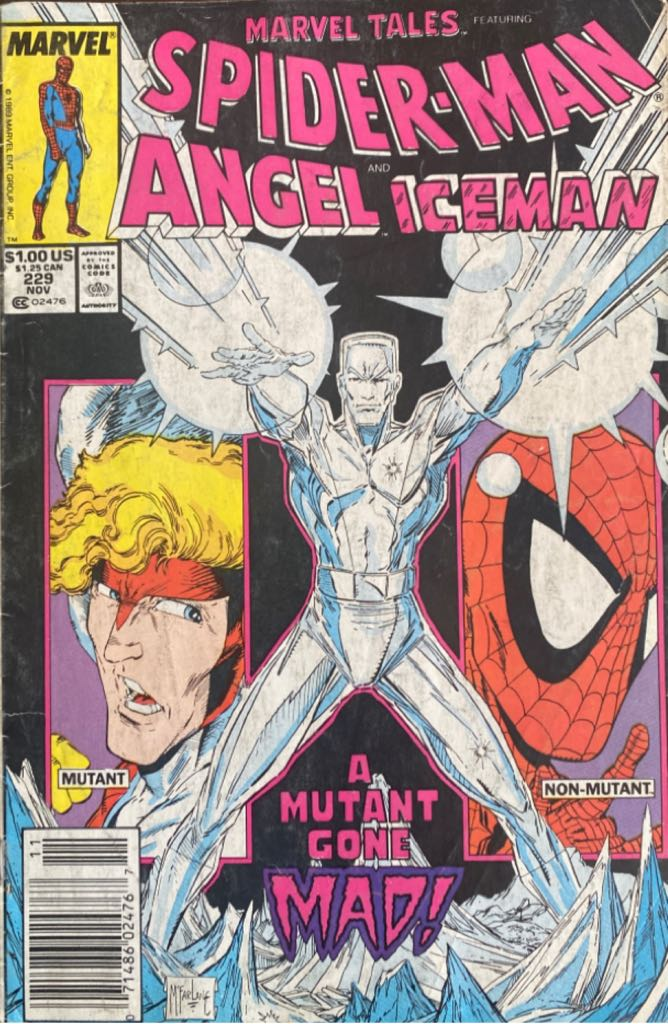 Marvel Tales Staring Spider-Man  - 229 cover
