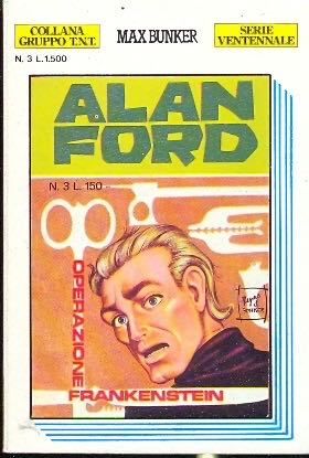 Operazione Frankenstein - 3 cover