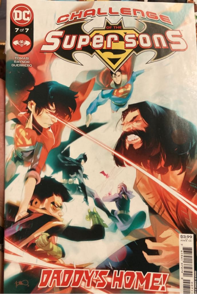 Challenge Of The Supersons - 7 cover