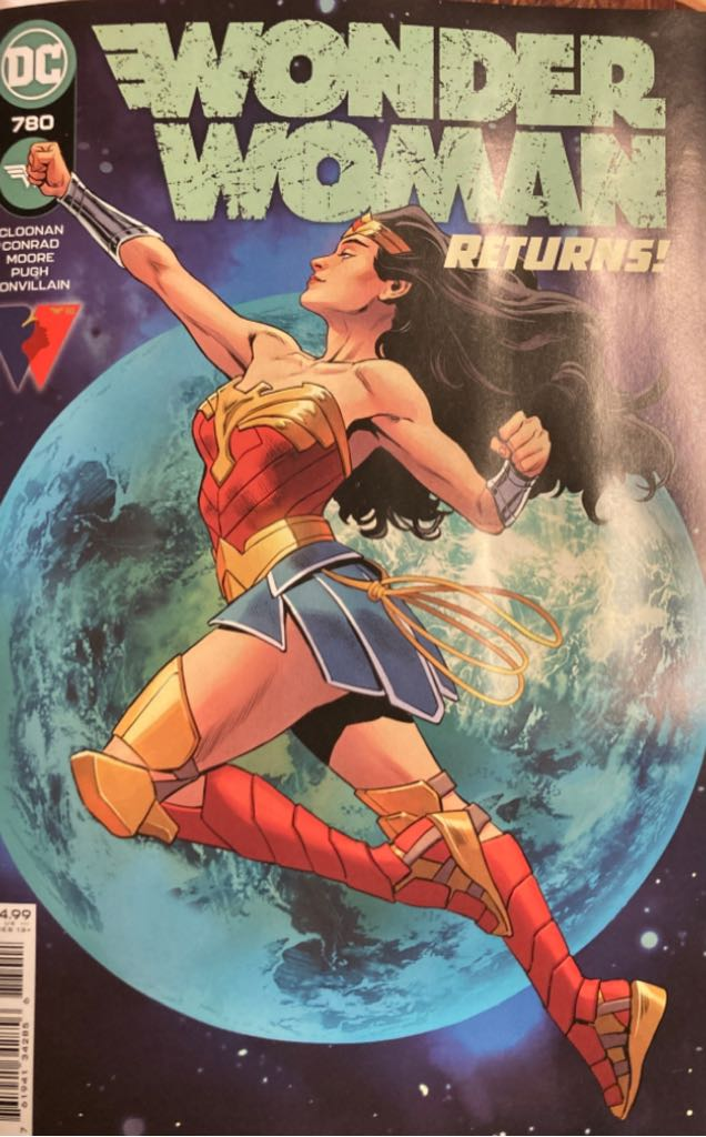Wonder Woman - 780 cover