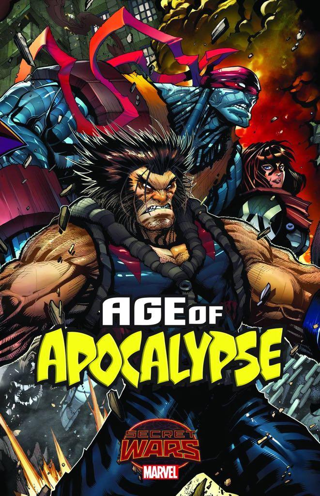 Secret Wars: Age Of Apocalypse - 2 cover
