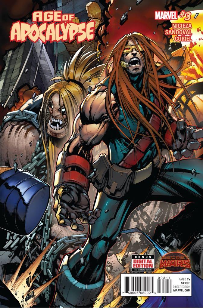 Secret Wars: Age Of Apocalypse - 3 cover