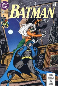 Batman - 482 cover