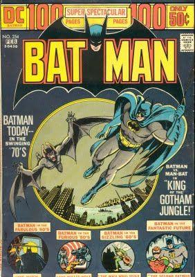Batman - 254 cover
