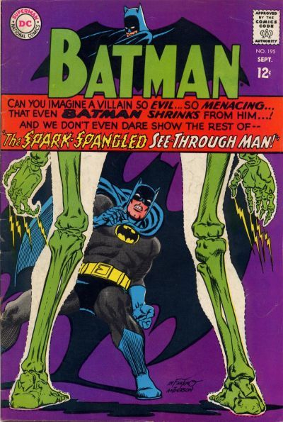 Batman - 195 cover