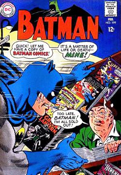 Batman - 199 cover