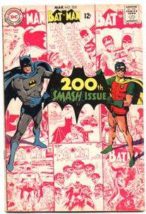 Batman - 200 cover