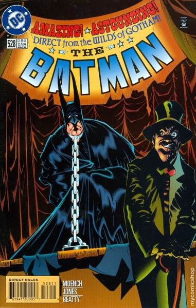 Batman - 528 cover