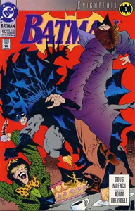 Batman - 492 cover