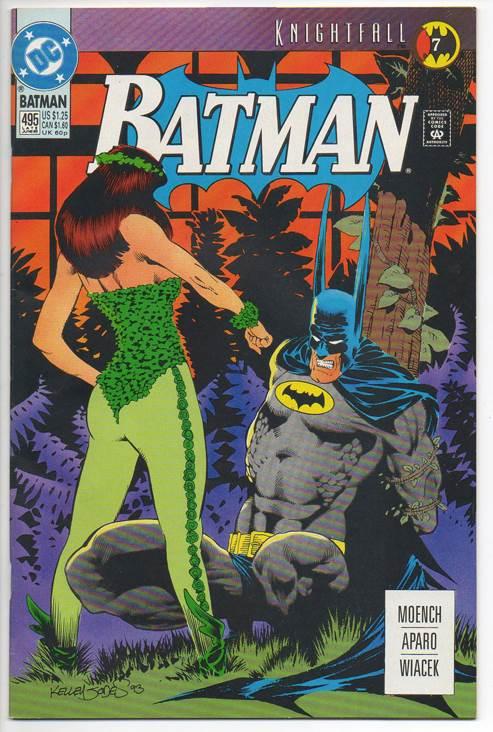 Batman - 495 cover