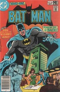 Batman - 339 cover