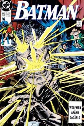 Batman - 443 cover