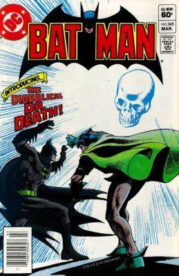 Batman - 345 cover