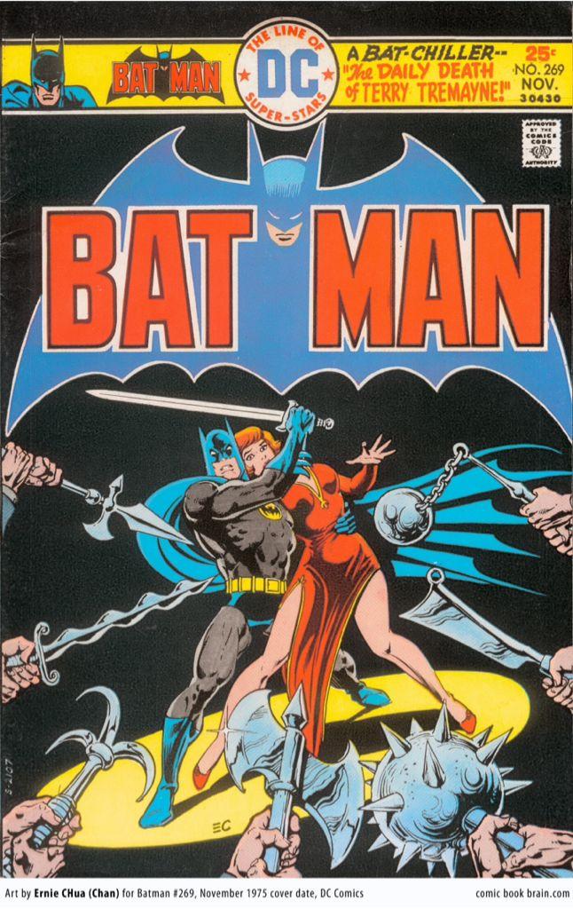 Batman - 269 cover