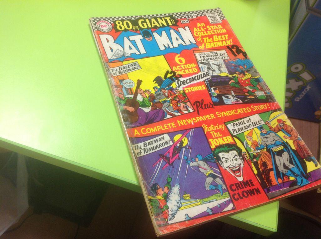 Batman - 187 cover